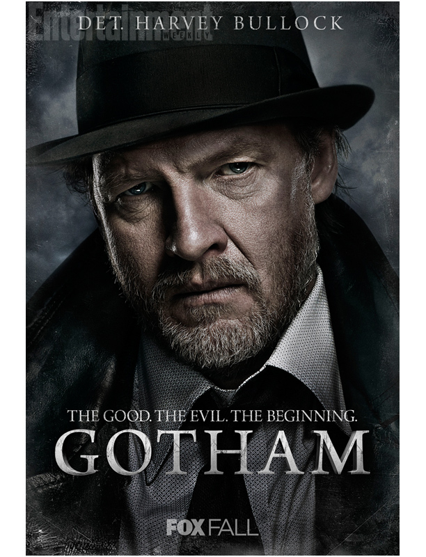 Det. Harvey Bullock (Donal Logue) Det. Gordon's pragmatic, cynical partner.