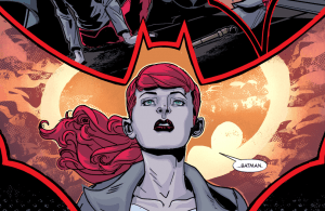 SECRET ORIGINS #3: Kate Kane is inspired to become Batwoman