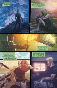 SECRET ORIGINS #4 - Oliver Queen returns home.