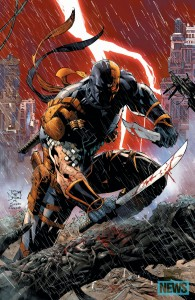 The Cover to Deathstroke #1 by Tony S. Daniel that will be released in October 2014