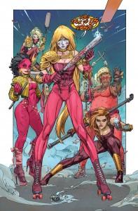 Some elements of these new Wonder Girl gang costumes are better than her own tube top