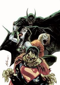"""Justice League"" #35 by Rafael Albuquerque"