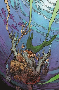 """Aquaman"" #35 by Mark Nelson"