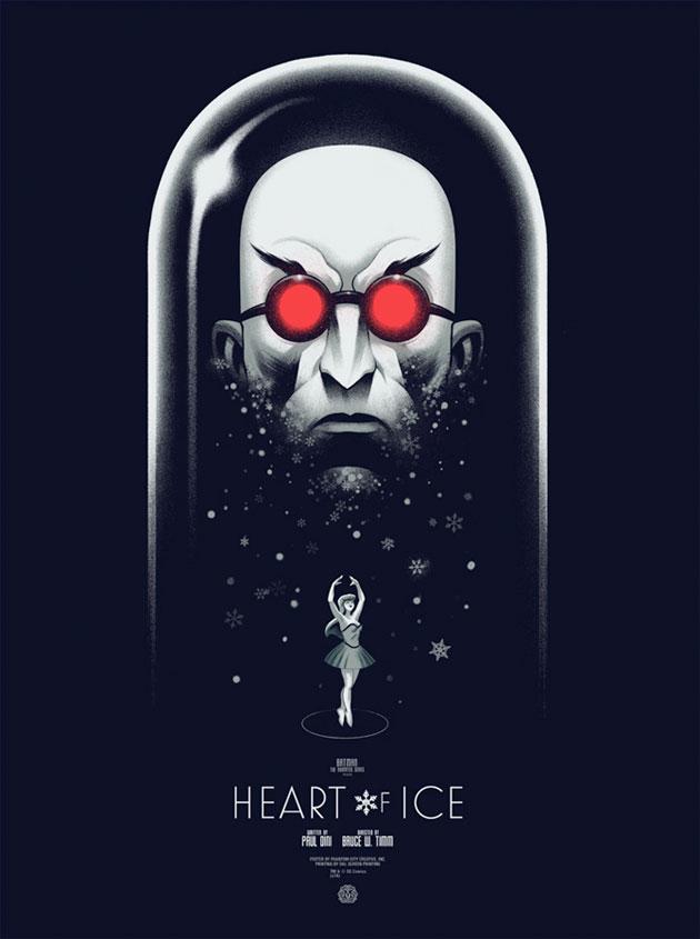 Heart on Ice by Phantom City Creative