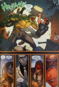 Batman Eterna 28 Killer Croc to the Rescue