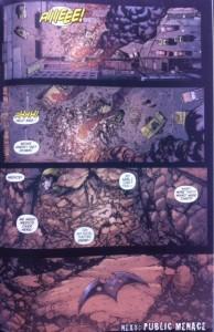 Batman Eternal 32 Explosion Aftermath