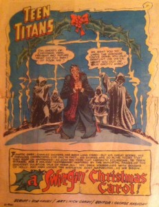 Christmas Titans Splash