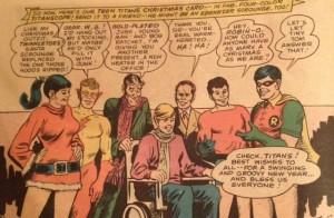 Christmas Titans group