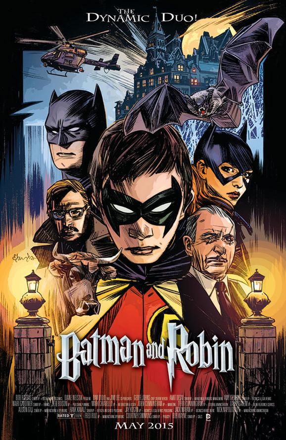 Batman and Robin/Harry Potter