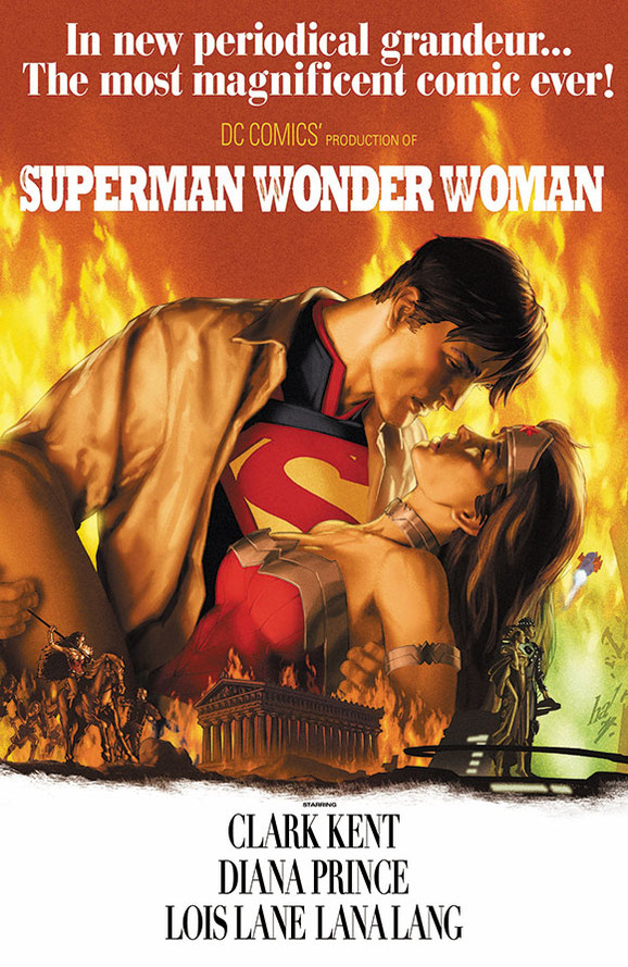 Superman/Wonder Woman / Gone with the Wind