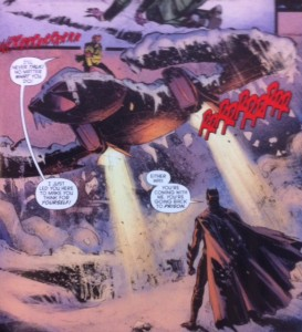 Batman Eternal 40 Batplane