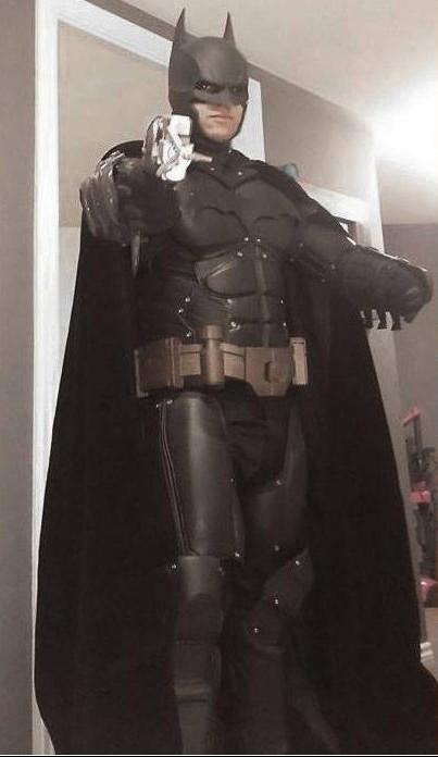Arkham Origins 3D printed Batman Suit