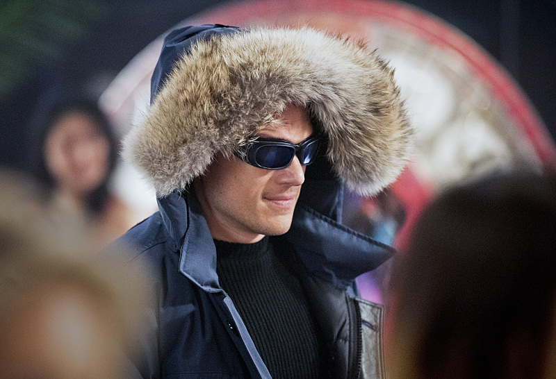 """The Flash--""""Rogue Time""""--image FLA116A_0011bc--Wentworth Miller as Leonard Snart/Captain Cold--Photo: Dean Buscher/The CW--© 2015 The CW Network, LLC. All rights reserved."""