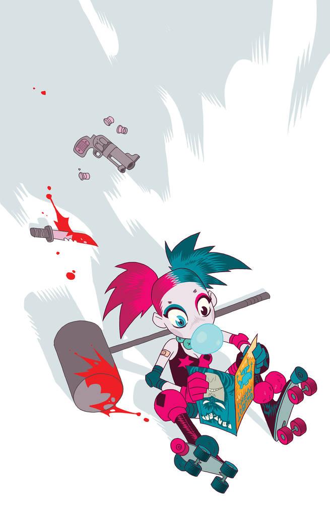 Harley Quinn #18 by Ben Caldwell
