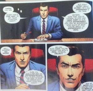 The Multiversity Ultra Comics Executive