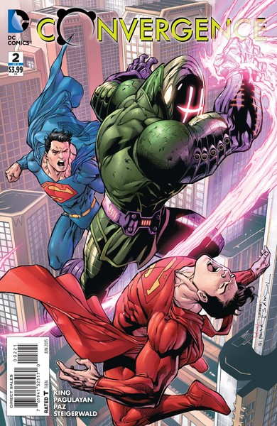 Convergence #2 variant cover (art by Tony Daniel with Mark Morales and Tomeu Morey)