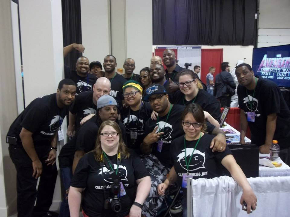 The crew from Culture Junkies!