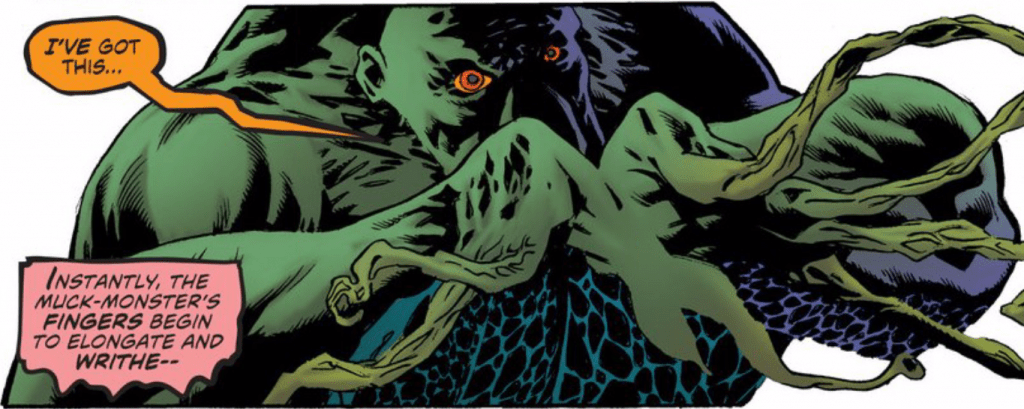 Convergence Swamp Thing 2 002