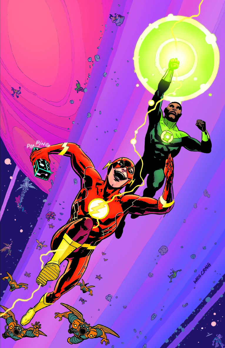 The Flash, with Galactus making a cameo along Silver Surfer