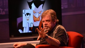 Mark Hamill, the voice of the Joker