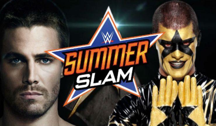 Stephen Amell SummerSlam!