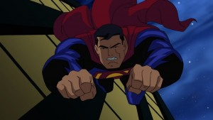 """Superman races to tempt the fates in the epic animated feature """"Superman Doomsday"""" the adaptation of the classic best-selling graphic novel."""
