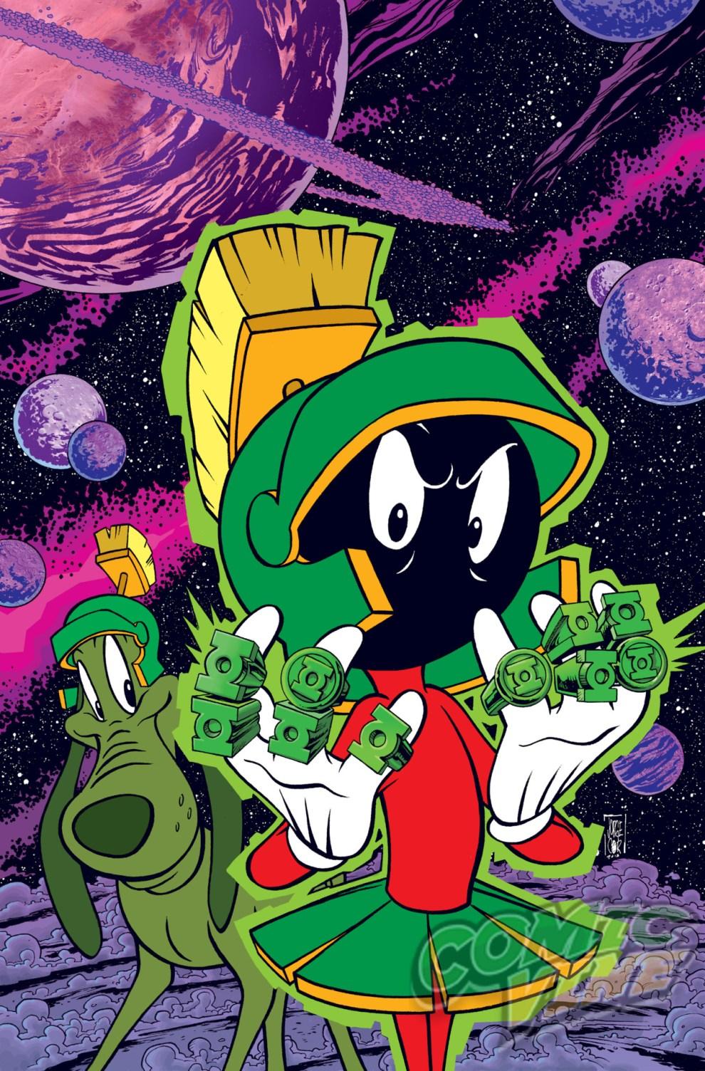 Green Lantern #46 by Jorge Corona and Warner Bros. Animation