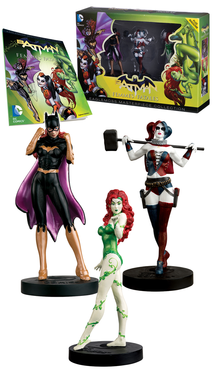 DC MASTERPIECE FIG COLL MAG #2 FEMME FATALES SET $69.95