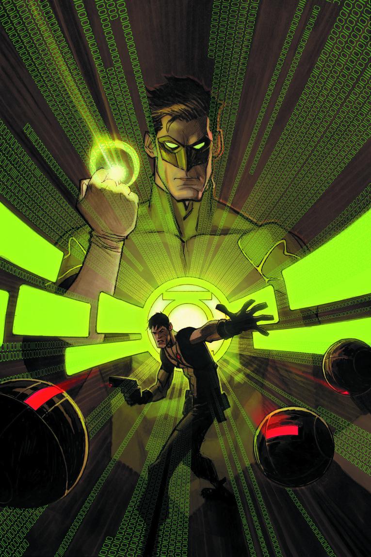 GRAYSON #12 (Andrew Robinson Green Lantern 75th)