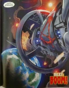 Earth 2 Society 4 Anarky ship