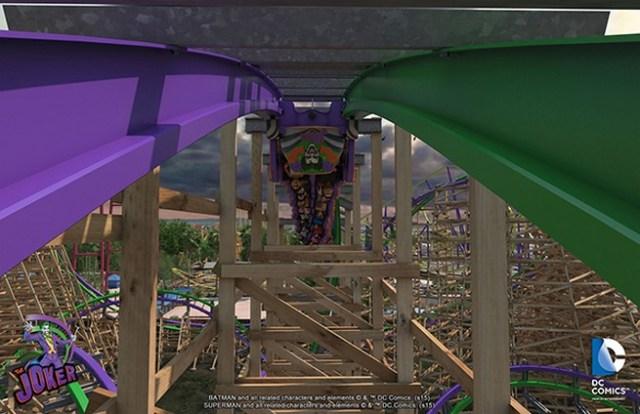 The Joker rollercoaster 5