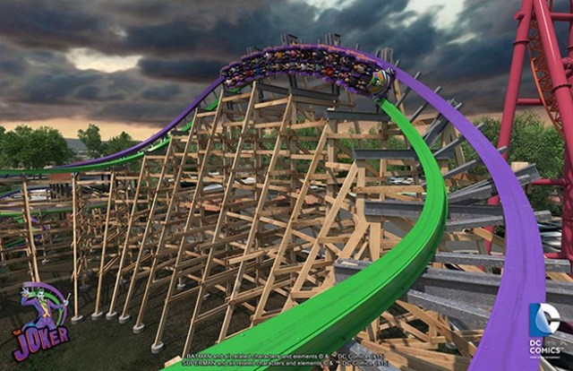 The Joker rollercoaster 4