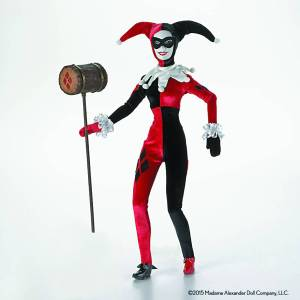 madame alexander dc comics harley quinn 16-in doll