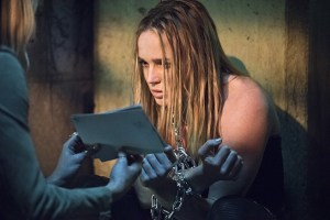 """Arrow -- """"Beyond Redemption"""" -- Image AR405B_0300b.jpg -- Pictured: Caity Lotz as Sara Lance -- Photo: Dean Buscher/ The CW -- © 2015 The CW Network, LLC. All Rights Reserved."""