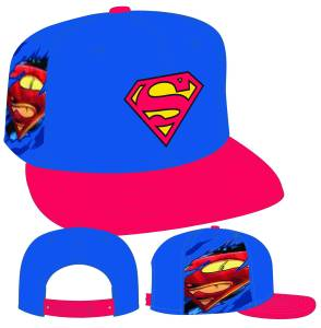 DC SUPERMAN 950 HERO SIDER SNAPBACK CAP 	$27.99