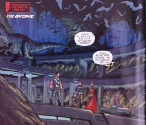 Batman and Robin Eternal 3 Batcave