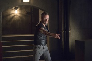 "Arrow -- ""Restoration"" -- Image AR403A_0153b.jpg -- Pictured: JR Bourne as Jeremy Tell -- Photo: Diyah Pera /The CW -- © 2015 The CW Network, LLC. All Rights Reserved."