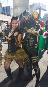 Batgirl and Talon