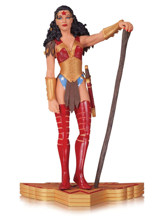 WONDER WOMAN ART OF WAR STATUE BY JILL THOMPSON