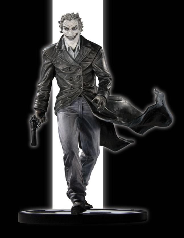 BATMAN BLACK & WHITE STATUE JOKER BY BERMEJO