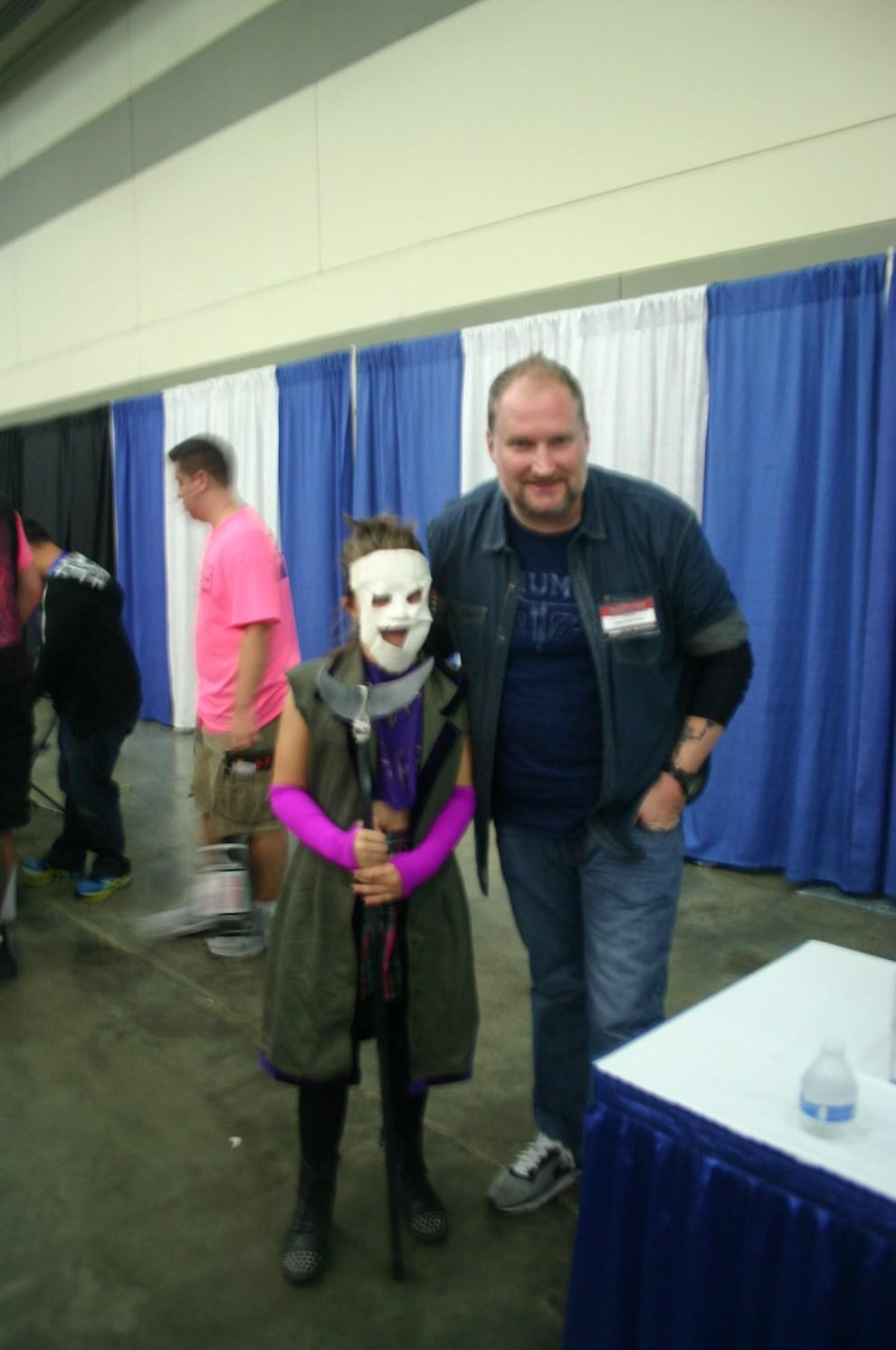 Joker's Daughter and Ethan Van Sciver