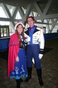 Anna and Christoph Frozen