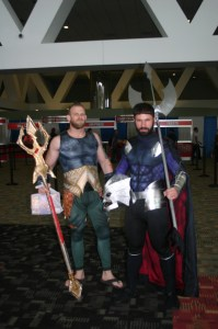 Aquaman and Ocean Master