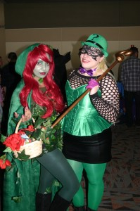 Poison Ivy and Riddler