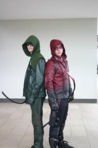 Arrow and Red Arrow