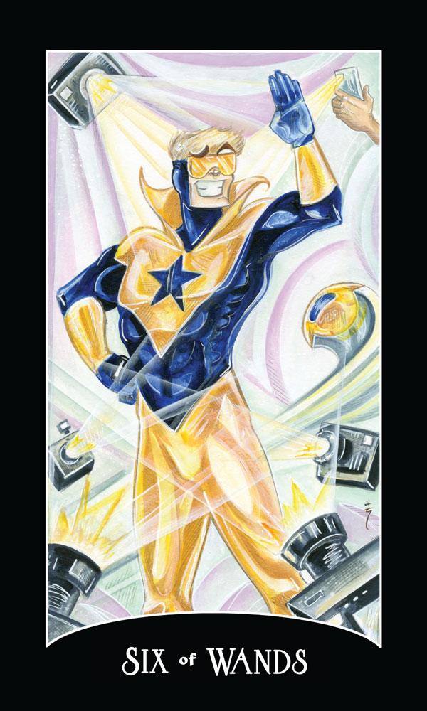 Justice League tarot 2