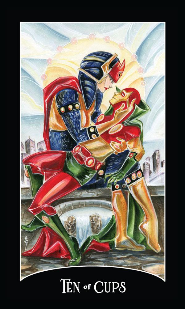Justice League tarot 1
