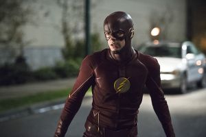 "The Flash -- ""Legends of Today"" -- Image FLA208B_0329b.jpg -- Pictured: Grant Gustin as The Flash -- Photo: Cate Cameron/The CW -- © 2015 The CW Network, LLC. All rights reserved."