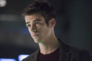 "The Flash -- ""Legends of Today"" -- Image FLA208B_0174b.jpg -- Pictured: Grant Gustin as Barry Allen -- Photo: Cate Cameron /The CW -- © 2015 The CW Network, LLC. All rights reserved."