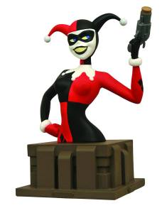 BATMAN ANIMATED SERIES HARLEY QUINN BUST $59.99